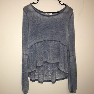 Tops - Baby Doll Style Long Sleeve
